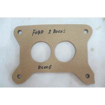 Empacadura Base Carburador Ford 2 Bocas Bc06