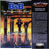 Cables De Bujias Encendido Mitsubisi Lancer 1.600 B& B 8mm
