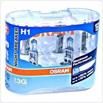 Bombillos Osram Night Breaker 90% Mejora H1 Alemanes