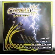 Cables De Bujías Civimax D 8mm Y 8.5mm Ford-8 Tapa Normal