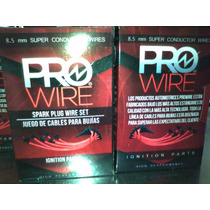 Cables De Bujías Pro Wire 8.5 Mm Chevrolet Motor V8 305/307