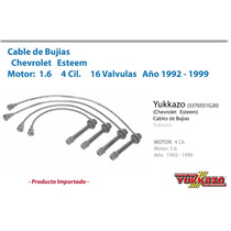 Cables Bujias Esteem 4cil Mot1.6 16valvulas 1992 - 1999