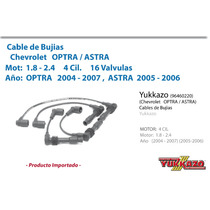 Cables Bujias Optra 1.8 04-07 / Astra 2.4 05-06