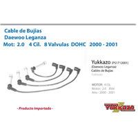 Cable Bujias Daewoo Leganza 4cil Mot2.0 00-01 8val Dohc