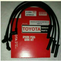 Toyota Starlet Motor 1.3 Cables Para Las Bujías..