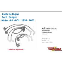 Cable Bujias Ford Ranger Mot 4.0 6cil 1998-2001
