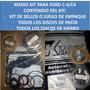 1/2 Medio Master Kit Ford C4/c-4 (jgo/emp+d/pasta+d/hierro)