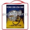 Carburador Ford 300 Bajo Choque Electrico Adaptar A 200-250
