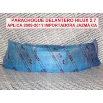 Parachoque Delantero Hilux 2.7 2009 2011 Original Toyota