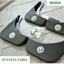 Skoda Guardabarros (4pcs/set) Con Logo, Octavia Fabia 2009