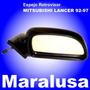 Espejo Retrovisor Derecho Manual Lancer 1992 A 1997
