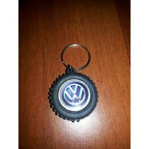 Llavero Volkswagen En Forma De Caucho