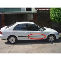 Platina 104 Puerta Del Rh Honda Civic 92-95 # 75302-sr4-003