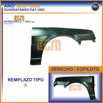 Guardafango O Parafango Der Fiat Uno Fire 2005 Al 2010