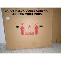 Capot Hilux Doble Cabina 2003 2005 Original Toyota