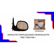 Espejo Retrovisor Derecho Fortaleza 98 05 Cromado Electrico