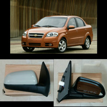 Retrovisor Chevrolet Aveo Lt Ls (copiloto) Rh Original