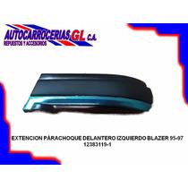 Extencion Parachoque Delantero Derecho / Izquierdo Blazer 95