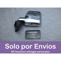 Espejo Retrovisor Toyota Samuray Cromado - Lado Izquierdo