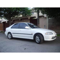 Platina Borde De Ventana Honda Civic 92-95