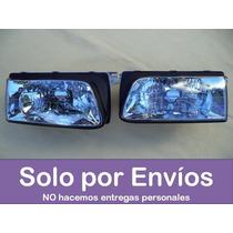 Set De 2 Faros Transparentes Chevrolet Luv Del 2000 Al 2003