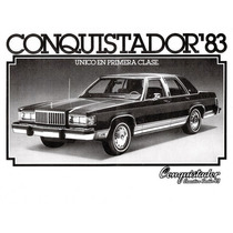 Pedal Para Freno De Mano Ford Conquistador 84 Usado Original
