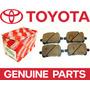Pastillas De Frenos Delantero Toyota Camry Parte 04465-33121