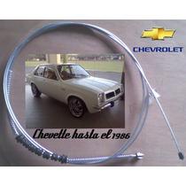 Guaya Freno De Mano Rueda Izq./der. Chevrolet Chevette.