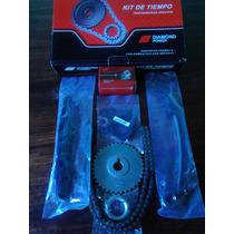 Kit Cadena De Tiempo Nissan Frontier D21 Motor Ka24e....