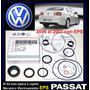 Passat Eps Kit Reparar Cajetin Direc Electrica Original V W