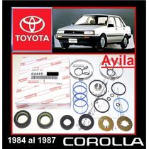 Corolla Avila Kit Reparar Cajetín Direccíon Original Toyota