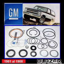 Blazer 1981 - 1988 Kit Cajetin/sector Dirección Original Gm