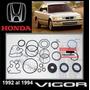 Vigor 1992 -94 Kit Cajetin Direccion Hidrauli Original Honda