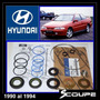 Scoupe 1990-1994 Kit Cajetín Direccíon Hidr Original Hyundai