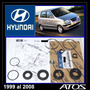 Atos 99-08 Kit Cajetín Direccíon Hidraulica Original Hyundai