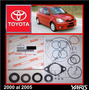 Yaris 2000 -05 Kit Cajetin Direccion Hidraul Original Toyota