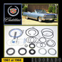 Cadillac El Dorado 1961-66 Kit Cajetín Direccíon Original Gm