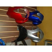 Careta De Speed 200 Color Gris,negro Y Azul