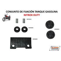 Gomas De Tanque Gasolina Moto Um Nitrox Duty 150 Origial