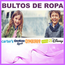 Bulto Carters Niñas Niños Original 6 Sets T2 A T14