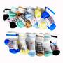 Media Tobillera De Varón Colores Surtidos 6-12 Mes (6 Pares)