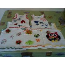 Franelillas Decoradas Para Niñas Y Bebes