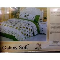 Sabanas Queen Galaxy Soft 100 %algodon Envio Gratis Mrw