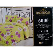 Sabanas Cannon 6000 Hilos 100%cotton