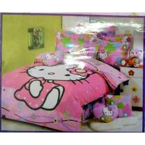 Edredon Infantil Hello Kitty Con Sabanas