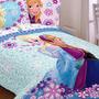 Edredón De Las Princesas Anna Y Elsa - Doble / Completo