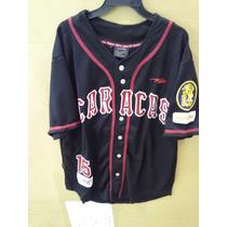 Franela Camisa Beisbol Baseball Lvbp Leones Del Caracas Xl