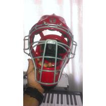 Careta De Catcher Tamanaco Negro Tipo Hockey Adulto Nuevo!!!