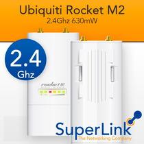 Ubiquiti Rocket M2 22dbi 2.4ghz 630mw Factura Fiscal