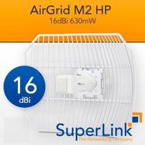 Ubiquiti Airgrid M2hp 2.4ghz 16dbi 630mw Factura Fiscal